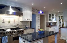 best granite countertop colors with white cabinets elegant kitchen design ideas blue accents
