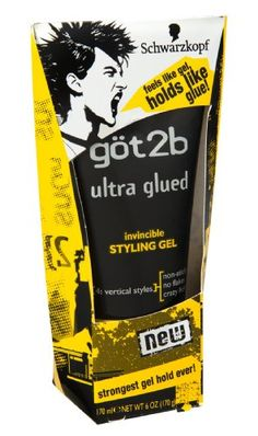 Schwarzkopf Got2b Ultra Glued 4 Vertical Styles Invincible Styling Gel 6 OZ Pack of 6 *** To view further for this item, visit the image link.Note:It is affiliate link to Amazon.