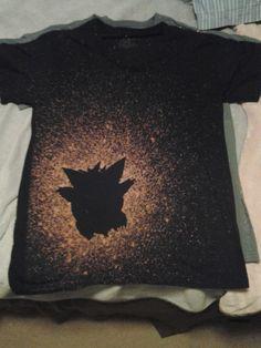 Pokemon Gangar Bleached Shirt