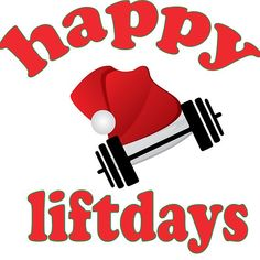 'Happy Liftdays' by Exetlos Workout Memes, Gym Memes, Gym Humor, Gym Workouts, Merry Christmas Baby, Christmas Humor, Crossfit Posters, Fitness Memes, Gym Junkie