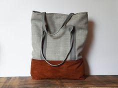 retro rustic tote bag vegan bag shopping bag country by SKMODELL, $64.00