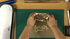 2 Methods - Heat Embossing and Toner via a Laser Printer Refer to Blog post for all links to the materials used in this video! http://www.poppyandmintdesign....