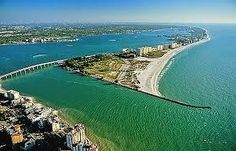 Clearwater, Florida: city with most hours of sun and best beaches in the USA, and also the lightning capital of the world! My hometown in 1991-92.