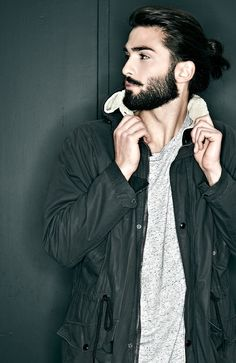 hair beard wax coat jacket men tumblr style streetstyle fashion men