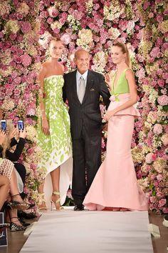 Oscar de la Renta,  Весна-лето 2015, Ready-To-Wear, Нью-Йорк