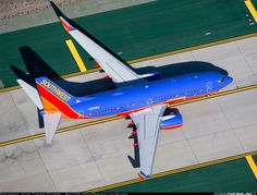Top - down view! - Photo taken at Los Angeles - International (LAX / KLAX) in California, USA on December Great Photos, View Photos, Passenger Aircraft, Southwest Airlines, Commercial Aircraft, Aircraft Pictures, Find Picture, Spacecraft, Aviation