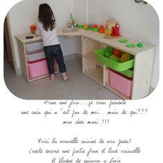 Kids Kitchen | Cocina niños | Cocinita | Cuisine enfant en bois