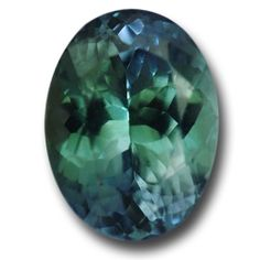 Absolutely stunning and very rare. This 5.57 carat, flawless green Tanzanite bursts with sparkle. A wonderful deep green with a hint of blue. Strong violet, green and blue trichroic colors in the dichroscope. A real collector's piece.