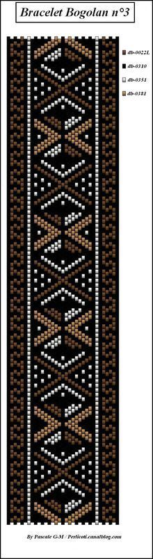 Best Bracelet Perles 2017/ 2018 : grilles bracelets/manchettes - Page 2 - perlicoti-peyote