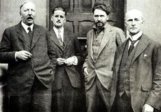 'The Transatlantic Review' Paris 1923: Ford Madox Ford, James Joyce, Ezra Pound and John Quinn http://www.geoffwilkins.net/ulysses/images/JJ_circle.jpg