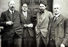 'The Transatlantic Review' Paris 1923: Ford Madox Ford, James Joyce, Ezra Pound and John Quinn http://www.geoffwilkins.net/ulysses/images/JJ_circle.jpg