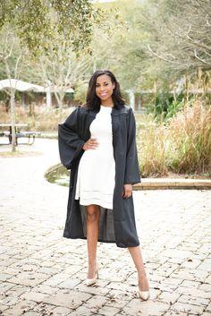 Graduation — Audie J. Girl Graduation Pictures, Graduation Look, Studio Lighting Setups, Dark Skin, Senior Pictures, Midi Skirt, Photoshoot, Coat, Skirts