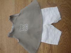 Baby Born setje broek en a line jurkje http://pipagreenstromlandelijkleven.blogspot.nl
