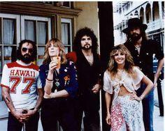 Fleetwood Mac 70s photo shoot