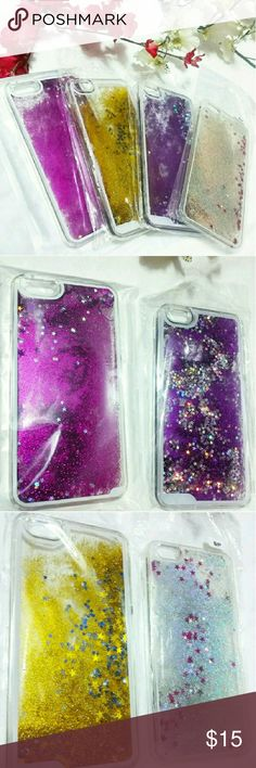 • IPHONE 6S PLUS Water Case • Glitter Star Water Cases for iPhone 6S Plus. New Without Tags (NWOT). RETAIL product from my business store. Not branded only for exposure. Available in 4 different colors : Silver, Gold, Purple & Pink!  $15 EACH!!!  Interested in phone accessories? Ask me for any phones!!!  ◾Price Firm◾ Michael Kors Accessories Phone Cases