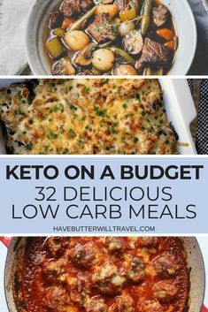 Keto on a budget – 32 budget friendly low carb recipes – Have Butter Will Travel Keto on a budget can be done. We have found 32 delicious low carb budget friendly recipes to help you keep your budget and stay in Ketosis. Keto On A Budget, Cooking On A Budget, Keto Foods, Low Carb Recipes, Diet Recipes, Salad Recipes, Healthy Recipes On A Budget, Cheap Recipes, Banting Recipes