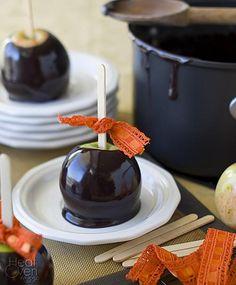 Halloween Recipes : Black Licorice Caramel