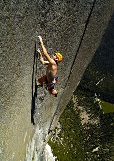 Style Essentials Yosemite Climbing Pioneers Part Vertical - Two climbers scale 3000ft hardest route world