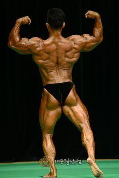 Park Jung Soo (박정수, Korean Bodybuilder)