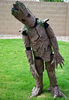 Groot Costume Diy Halloween, Childrens Halloween Costumes, Halloween Costumes To Make, Halloween Costume Contest, Boy Costumes, Holidays Halloween, Costume Ideas, Children Costumes, Women Halloween