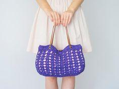 BAG // Orange bag Pink Bag Fuchsia Bag Summer Bag por Sudrishta