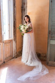 Plunging Neckline Lace Fit Flare Ivory And Gold Gown (4XLWPD22512) Gold Gown, Alice Springs, Melbourne Wedding, Boho Bride, Bridal Looks, Plunging Neckline, Dream Dress, Wedding Vendors, Spring Wedding