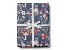 Forest Blue Wrap by Kelsey Garrity-Riley for Red Cap Cards #illustration