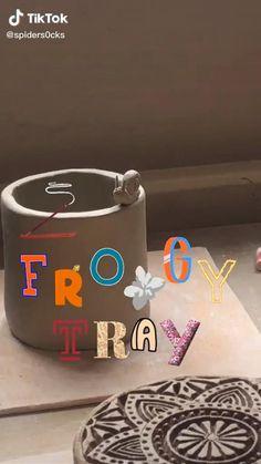 Ceramic Pottery, Pottery Art, Ceramic Art, Polymer Clay Crafts, Diy Clay, Keramik Design, Clay Art Projects, Cute Clay, Fun Diy Crafts