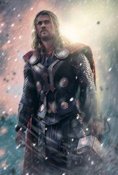 #Thor #Fan #Art. (Thor) By: LifeEndsNow. AWESOMENESS!!! [THANK U 4 PINNING!!]