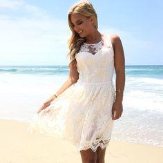 Unconditional Love Lace Dress