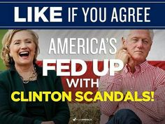 Clinton scandals and Clinton neoliberalism and Clinton oligarchy . America is… Political Corruption, Political Views, Crooked Hillary, Clinton Foundation, Conservative Politics, Our President, We The People, Evil People, Thank God