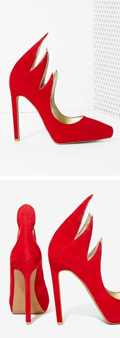 Flame Stiletto Heels