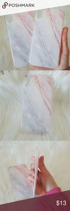 IPHONE X MARBLE CASE PRICE FOR 1PIECE  MARBLE CASE FOR IPHONE X  100% Brand New cases. *Made of high qualitySoft TPU, light and durable *Fashion design, easy to put on and easy to take off. *Perfectly fit for IPHONE 7 *Protect your phone from dust, scratching and shock. *Color: As shown Pictures . Accessories Phone Cases