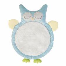 Aqua Owl Play Mat