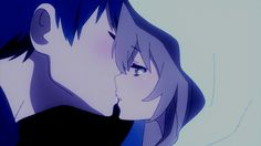 Ryuuji and Taiga - Toradora - No denying they are one of the all time best anime couples ever.