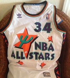 Hakeem Olajuwon 1994-1995 NBA All stars New With TagsAdidas Jersey Size M  Men s be84ee4e2