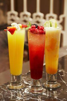 The Harrods Mezzah Lounge drinks