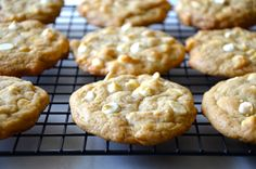 White Chocolate Chip Cheesecake Cookies Recipe | Just a Taste