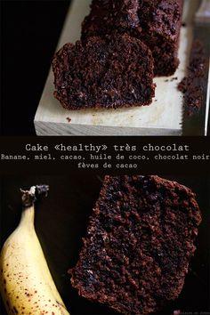 Cake « healthy » très chocolat | Cuisine en Scène, le blog cuisine de Lucie Barthélémy - CotéMaison.fr