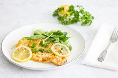While I'm usually prepared to slow-cook, braise, and marinade my meats and poultry, I can't say the same for fish. I've learned that fresh, wild-caught fish is most delicious when it's romanced with simple ingredients. This sole meunière is the perfect example of that. A light dredge in flour, then the fish is off to a pan of brown butter to become succulent and moist beyond belief. This easy fish recipe is then finished off with a drizzle of lemon butter sauce and a garnish o...