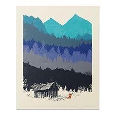 Wilderness Nature Lover Art Print