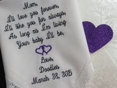 30 words of your choice. Mother's by elegantmonogramming on Etsy