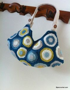 Circles Bag  p.s. I crochet...