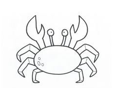 Exclusive Image of Crab Coloring Pages . Crab Coloring Pages Free Printable Crab Coloring Pages For Kids New Page Bitslice Rapunzel Coloring Pages, Super Coloring Pages, Mermaid Coloring Pages, Coloring Sheets For Kids, Animal Coloring Pages, Coloring Pages To Print, Kids Colouring, Colouring Sheets, Applique Templates