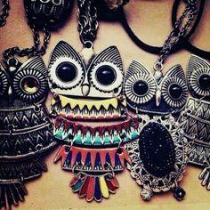 Jumbo Owl Jewelry