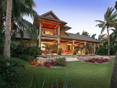 Hawaiian style kit homes