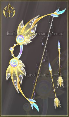 Sun Wing, bow adopt (OPEN) Auction by Rittik-Designs