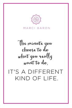 Get more daily inspiration on my blog! #goodvibes #marcibaron #positivity