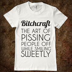 Supermarket: Bitchcraft from Glamfoxx Shirts