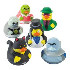 Super Villain Rubber Duckies - OrientalTrading.com 6.50 dz